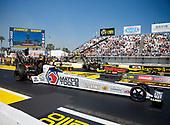 17-19 March 2017, Gainesville, Florida USA Antron Brown, Matco Tools, Troy Coughlin Jr, SealMaster, top fuel dragster ©2017, Mark J. Rebilas