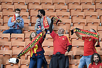 Spanish supporters during the Uefa Nations League semi-final football match between Italy and Spain at San Siro stadium in Milano (Italy), October 6th, 2021. Photo Andrea Staccioli / Insidefoto