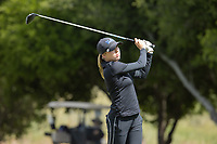 STANFORD, CA - APRIL 24: Emma Spitz at Stanford Golf Course on April 24, 2021 in Stanford, California.