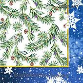 Randy, GIFT WRAPS, GESCHENKPAPIER, PAPEL DE REGALO, paintings+++++Wintering-Birds-Bev-Napkin,USRW207,#GP# Christmas napkins