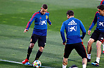 Spanish Sergio Canales during the training of the spanish national football team in the city of football of Las Rozas in Madrid, Spain. March 18, 2019. (ALTERPHOTOS/Manu R.B.)