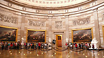 Capital Building, The National Statuary Hall- The United States Capitol in Washington, D.C.