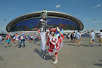 KAZAN - RUSIA, 30-06-2018: Francia y Argentina en partido de octavos de final por la Copa Mundial de la FIFA Rusia 2018 jugado en el estadio Kazan Arena en Kazán, Rusia. / France and Argentina in match of the round of 16 for the FIFA World Cup Russia 2018 played at Kazan Arena stadium in Kazan, Russia. Photo: VizzorImage / Julian Medina / Cont