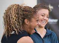 New Orleans, LA - October 18, 2017: Members of the USWNT visit the practice facility of the New Orleans Saints and Pelicans.