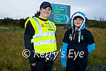 12 year old Clodagh Kennelly with her mom Margaret Foley and Clodagh has walked from Moyvane with her mom to the UHK in Tralee to raise money for the mental health unit in University Hospital Kerry.