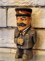 Stalin Souvenirs in Tiflis – Tbilissi, Georgien, Europa<br /> Stalin souvenirs, , Tbilisi, Georgia, Europe