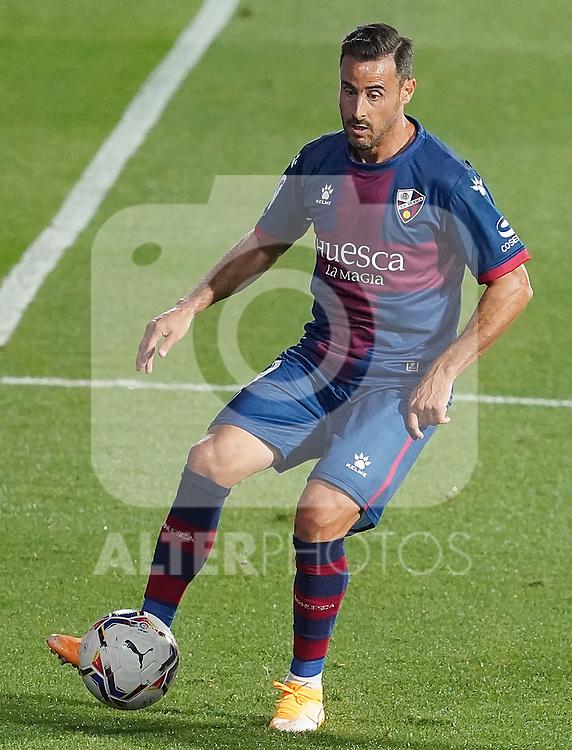 SD Huesca's Pedro Lopez during La Liga match. September 30,2020. (ALTERPHOTOS/Acero)