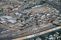 mid 1990 Pueblo aerial of historic district