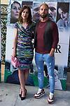 Ruth Diaz and Carles Francino jr. attend the 'Pasaja al amanecer' photocall at Alma Club in Madrid on April 17, 2017. (ALTERPHOTOS / Rodrigo Jimenez)
