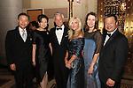 Leroy Chiao, Jon M. Huntsman, Jr., Shirley & Walter Wang @ China Institute #bluecloudgala 5/29/15
