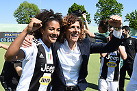 Sara Gama-Rita Guarino.  Celebration at the end of the match <br /> Verona 20-4-2019 Stadio AGSM Olivieri <br /> Football Women Serie A Hellas Verona - Juventus <br /> Juventus win italian championship <br /> Photo Daniele Buffa / Image Sport / Insidefoto
