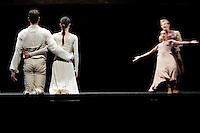 Dress rehearsal of Les Ballets de Monte Carlo's performance of the ballet 'Les Noces' by Jiri Kylian, Grimaldi Forum, Monaco, 30 December 2009