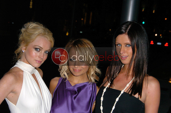 Lindsay Lohan, Nicole Richie and Nicky Hilton<br /> at the Cartier Celebrates 25 Years In Beverly Hills, Cartier Boutique, Beverly Hills, CA 05-09-05<br /> Chris Wolf/DailyCeleb.com 818-249-4998