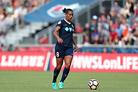Cary, North Carolina  - Sunday May 21, 2017: Rosana during a regular season National Women's Soccer League (NWSL) match between the North Carolina Courage and the Chicago Red Stars at Sahlen's Stadium at WakeMed Soccer Park. Chicago won the game 3-1.