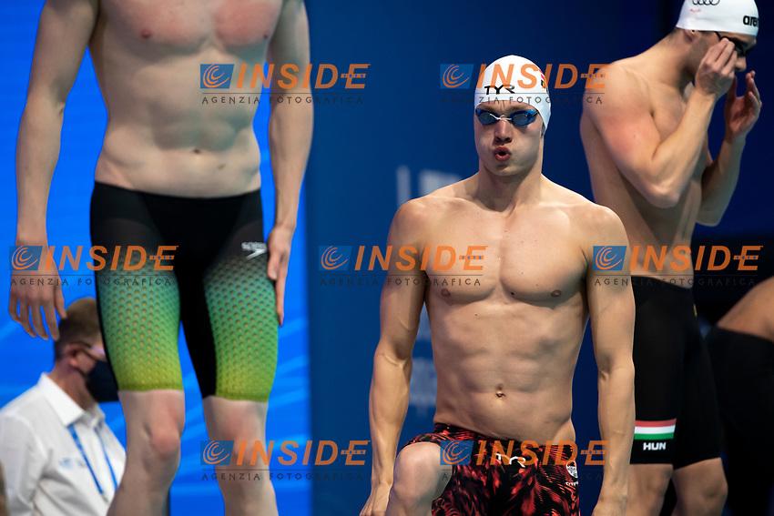 Team Denmark DEN<br /> Swimming - Mixed 4x200m freestyle relay final<br /> XXXV LEN European Aquatic Championships<br /> Duna Arena<br /> Budapest  - Hungary  18/5/2021<br /> Photo Giorgio Perottino / Deepbluemedia / Insidefoto