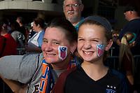 Sep 19, 2017; Cincinnati, OH, USA; General pregame view before the match between USA and New Zealand at Nippert Stadium. Greg Bartram/ISI photos