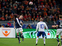 .The USA men fell to the Netherlands 2-1 at Amsterdam ArenA, Wednesday, March 3, 2010.