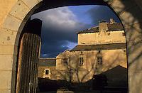 Europe/France/Languedoc-Roussillon/66/Pyrénées -Orientales/Cerdagne/Sainte-Léocardie : Ferme de Cal Mateu, musée de Cerdagne