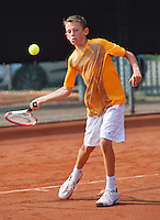 August 6, 2014, Netherlands, Rotterdam, TV Victoria, Tennis, National Junior Championships, NJK,  Jip van Assendelft (NED)<br /> Photo: Tennisimages/Henk Koster