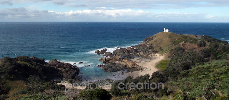 Little bay & Tacking Point Lighthouse Port Macquarie