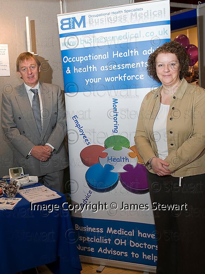 Falkirk Business Exhibition 2011<br /> Business Medical.
