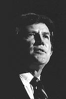 Gary Hart, Presidential Campaign February 1987 Boston MA