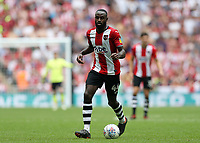 28th May 2018, Wembley Stadium, London, England;  EFL League 2 football, playoff final, Coventry City versus Exeter City; Hiram Boateng of Exeter City on the ball