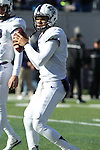 December 30, 2016: TCU quarterback Kenny Hill (7) during pregame of the Autozone Liberty Bowl Georgia Bulldogs vs TCU Horned Frogs at Liberty Bowl Memorial Stadium in Memphis, Tennessee. ©Justin Manning/Eclipse Sportswire/Cal Sport Media