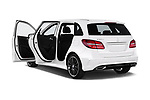Car images close up view of a 2018 Mercedes Benz B Class Base 5 Door Hatchback doors