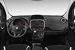 Straight dashboard view of a 2013 - 2014 Renault Kangoo eXtrem Mini MPV.