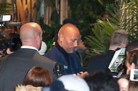 December 5 2017, PARIS FRANCE Premiere of Jumanji : Welcome to the Jungle at the Grand Rex Paris.Actor Dwayne Johnson signs autographs.
