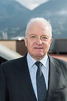 BSI SA Lugano; Direttore consiglio d'amministrazione Joseph Rickenbacher; BSI Sede Viale Franscini