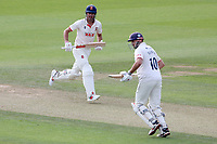 Sir Alastair Cook of Essex adds to the total during Surrey CCC vs Essex CCC, LV Insurance County Championship Division 2 Cricket at the Kia Oval on 12th September 2021