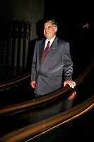 Montreal, CANADA,  Sept 1992 File Photo of Guy Saint-Pierre when he was President of SNC, which  became  SNC-Lavallin.<br /> <br /> Photo : Agence Quebec Presse - Pierre Roussel