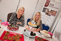 Nicola Hickman (left) and Natalie Hodgson of Oak Student Letts had a popular stand featuring free cakes!