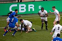 13th February 2021; Twickenham, London, England; International Rugby, Six Nations, England versus Italy; Maro Itoje of England makes a break