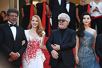 GABRIEL YARED, JESSICA CHASTAIN, PEDRO ALMODOVAR AND FAN BINGBING - RED CARPET OF THE CLOSING CEREMONY AT THE 70TH FESTIVAL OF CANNES 2017