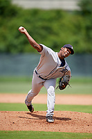 GCL Tigers West pitcher Roberto Francisco (40) during a Gulf Coast League game against the GCL Phillies West on July 27, 2019 at the Carpenter Complex in Clearwater, Florida.  (Mike Janes/Four Seam Images)