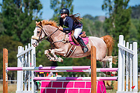 Class 30 Pony 1.00m. 2020 NZL-Fieldline Horse Floats Brookby Showjumping Summer GP Show. Papatoetoe Pony Club. Auckland. Sunday 9 February. Copyright Photo: Libby Law Photography
