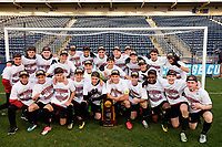 Chester, PA - Sunday December 10, 2017: Stanford University Stanford University defeated Indiana University 1-0 in double overtime during the NCAA 2017 Men's College Cup championship match at Talen Energy Stadium.