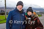 Eugene and Maria McGrath enjoying a stroll in Blennerville on Thursday.
