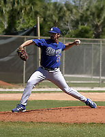 March 28, 2004:  Pitcher Tom Martin of the Los Angeles Dodgers organization during Spring Training at Dodgertown in Vero Beach, FL.  Photo copyright Mike Janes/Four Seam Images