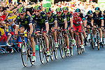 Team Movistar during La Vuelta a España 2016 in Madrid. September 11, Spain. 2016. (ALTERPHOTOS/BorjaB.Hojas)