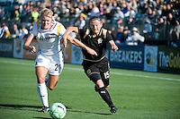 Johanna Frisk, Tiffeny Milbrett. The Los Angeles Sol defeated FC Gold Pride, 2-0, at Buck Shaw Stadium in Santa Clara, CA on May 24, 2009.