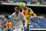 Real Madrid's James Rodriguez and Valencia's Joao Cancelo during La Liga match. May 08,2016. (ALTERPHOTOS/BorjaB.Hojas)