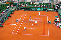 7-3-09,Argentina, Buenos Aires, Daviscup  Argentina-Netherlands,  De dubbel Jesse Huta Galung en Rogier Wassen