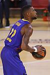 League ACB-ENDESA 2020/2021.Game 15.<br /> FC Barcelona vs Club Joventut Badalona: 88-74.<br /> Cory Higgins.