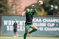 STANFORD, CA - SEPTEMBER 12: Katie Meyer before a game between Loyola Marymount University and Stanford University at Cagan Stadium on September 12, 2021 in Stanford, California.