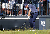 15th July 2021; Royal St Georges Golf Club, Sandwich, Kent, England; The Open Championship, PGA Tour, European Tour Golf, First Round ; Shane Lowry (IRE) hits a long iron on the par three 3rd hole
