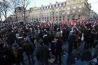 Rassemblement 'Avec Theo et les autres victimes' et contre les violences policiËres, le 18 fÈvrier 2017, Place de la RÈpublique ‡ Paris.